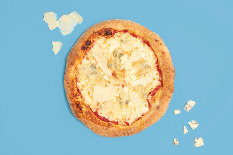 pizza formaggi