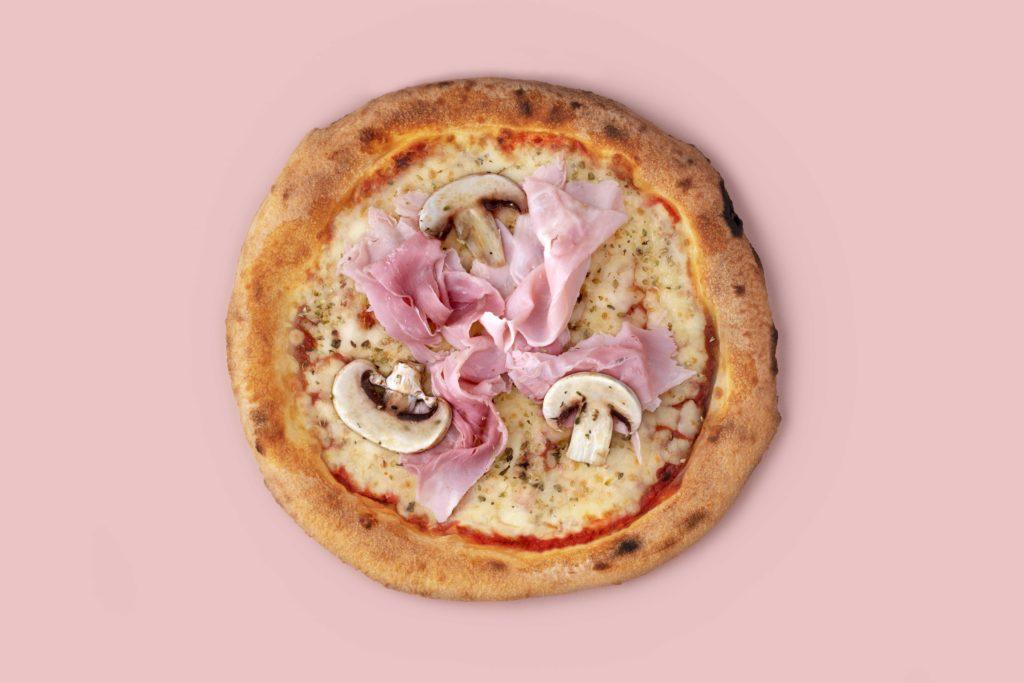 Pizza Prosciutto e fungui