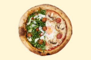 Pizza mitades crea tu pizza personalizada