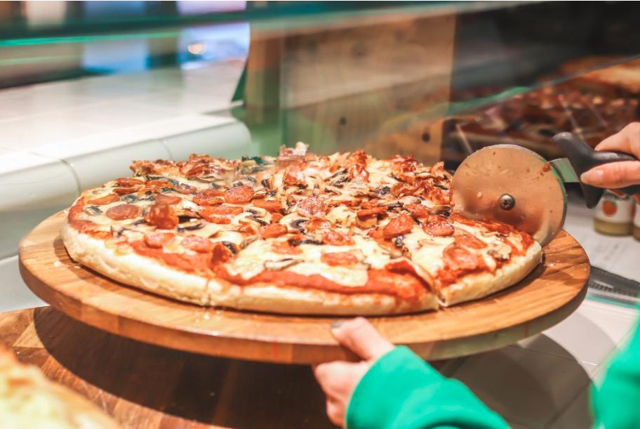 Pizzería a domicilio a prueba coronavirus