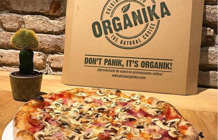 Coronavirus no nos detiene Pizza Orgánika