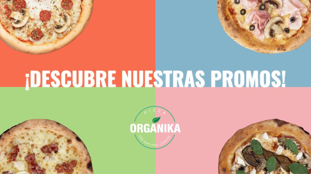 ofertas especiales pizzas Pizza Orgánika