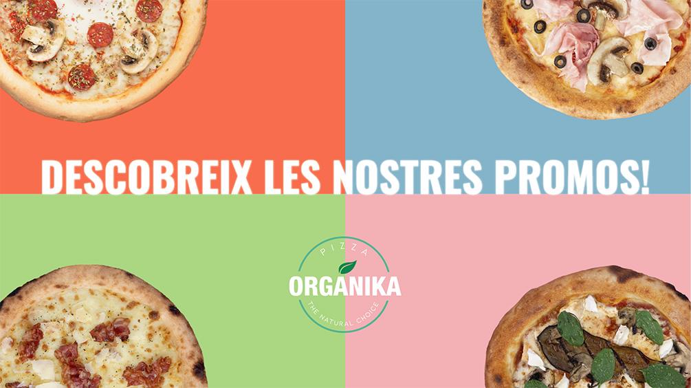 promoció de pizzes