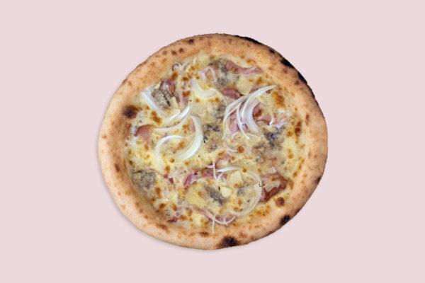 Pizza gourmet orgánika ecológica