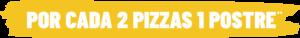 botón oferta pizza delivery barcelona